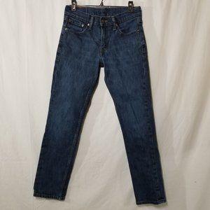 Levis 511 slim fit stretch denim blue jean W29xL30